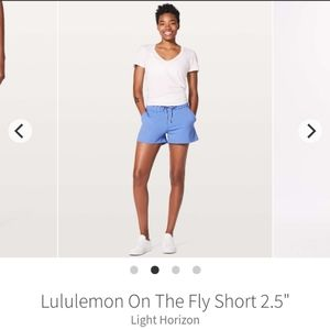 LULULEMON WMNS ON THE FLY/Light Horizon SHORTS 10